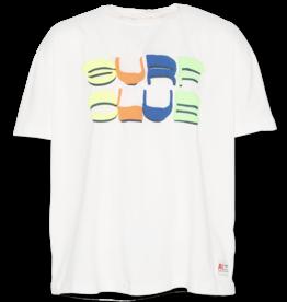 AO76 t-shirt wit surf club