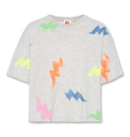 AO76 t-shirt oversized multicolor