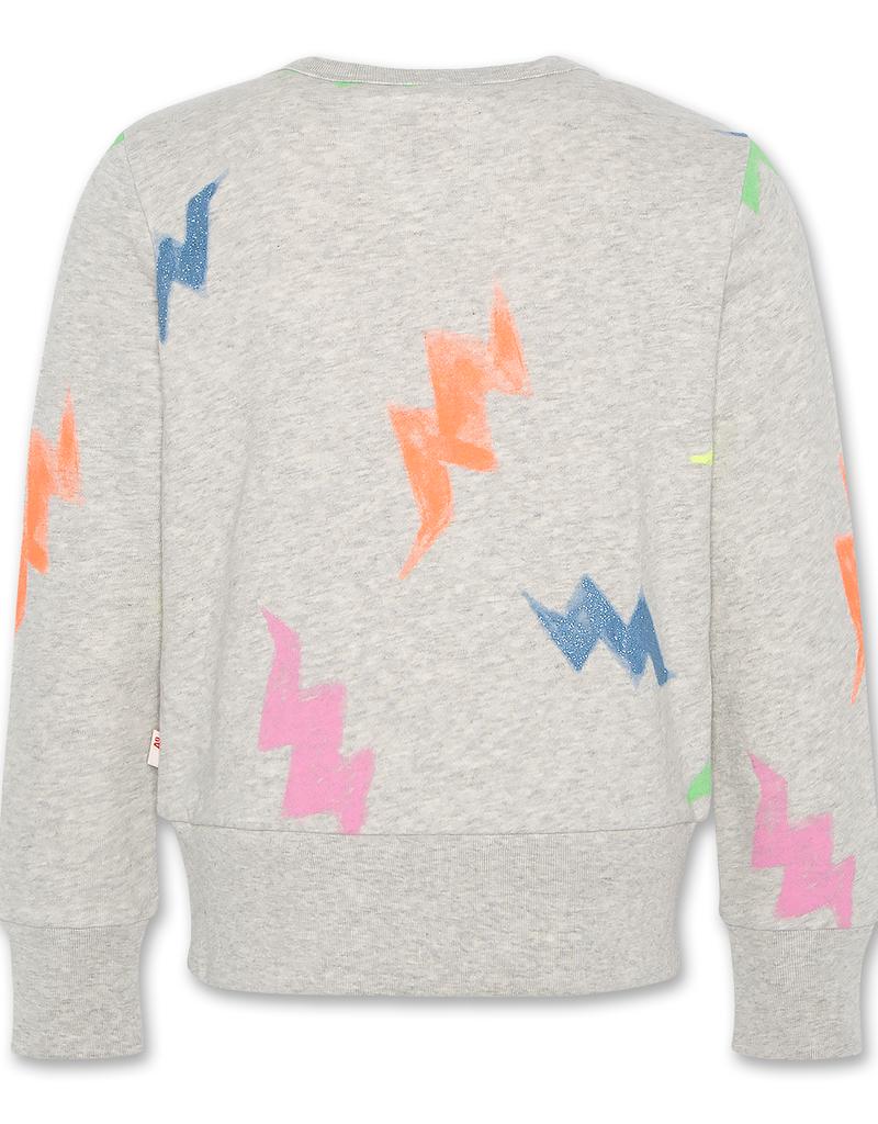 AO76 sweater grijs en kleurtjes
