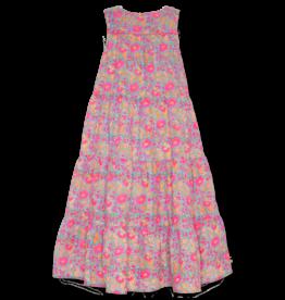 AO76 jurk lang stroken kleuren