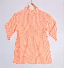 AO76 jurk fluo oranje