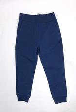 Monnalisa blauwe sweater rits met kap en dessin