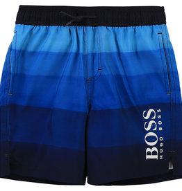 Hugo Boss zwembroek short streep blauw