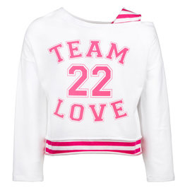 Elsy sweater wit fuchsia team 22