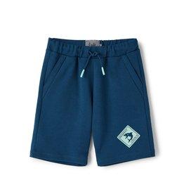 Il gufo Short blauw-aquagroen