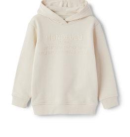 Il gufo Sweater hoodie schelpkleur