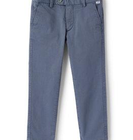 Il gufo broek lang chino blauw