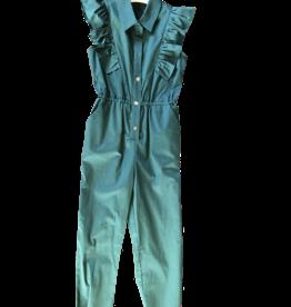 Liu Jo jumpsuit kraag  groen