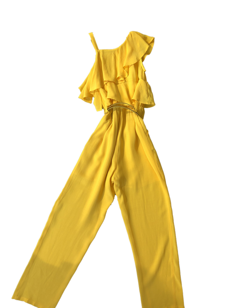 Liu Jo jumpsuit goud lurex