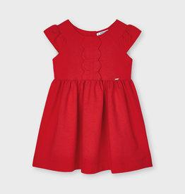 Mayoral jurk rood wavey