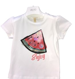 Liu Jo T-shirt wit watermeloen
