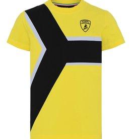 Lamborghini T-shirt geel zwart