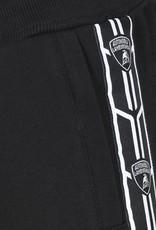 Lamborghini short zwart band zijkant