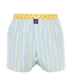 Mc Alson boxershort streep geel blauw