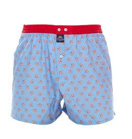 Mc Alson boxershort blauw strandstoel rood