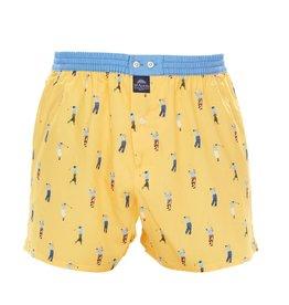 Mc Alson boxershort geel golfers
