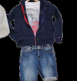 Le temps des cersies short jeans stretch