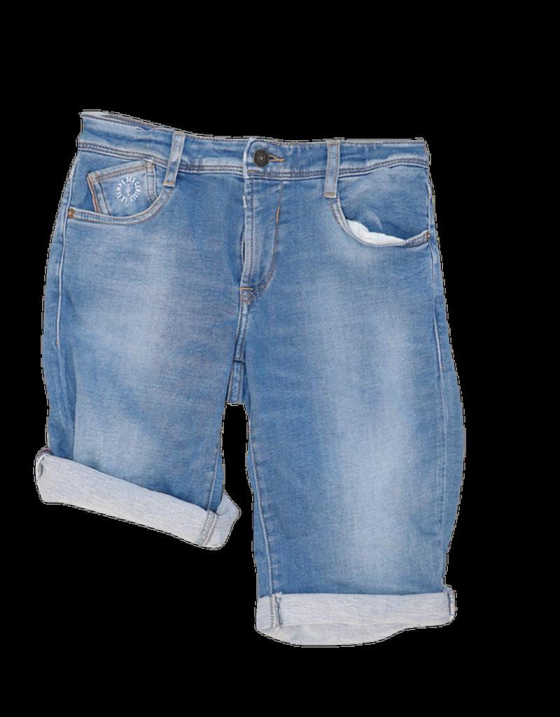 Le temps des cersies short jeans lichtblauw