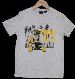 Le temps des cersies T-shirt hond skater grijs