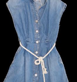 Le temps des cersies jurk jeans knoopjes