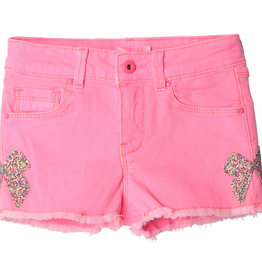 Billieblush short fluo rose