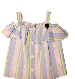 Jeycat top streep blouse bandjes
