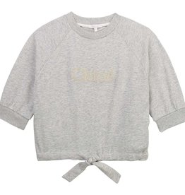Chloe sweater km grijs chine