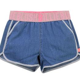 Billieblush short jeans blauw fluo