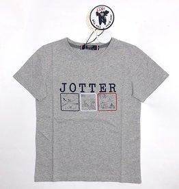 JOTT T-shirt grijs Jotter