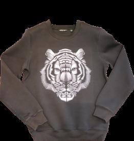 Antony Morato sweatshirt zwart 3D print leeuw