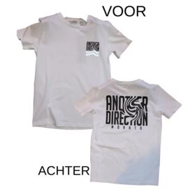 Antony Morato wit T-shirt plastic print