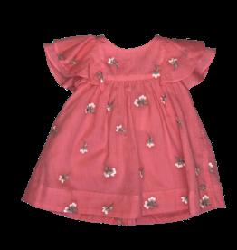 Tartine&Chocolat baby jurk magnolia  roze