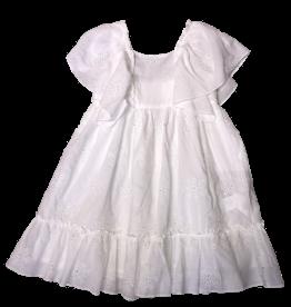 Tartine et Chocolat jurk wit broderie
