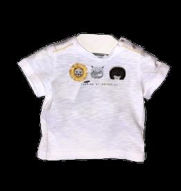 Tartine et Chocolat T-shirt wit egel