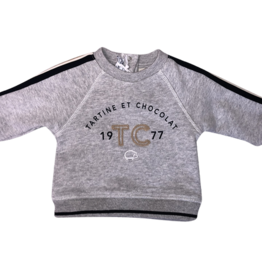 Tartine&Chocolat sweater grijs tc 1977