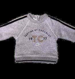 Tartine et Chocolat sweater grijs tc 1977