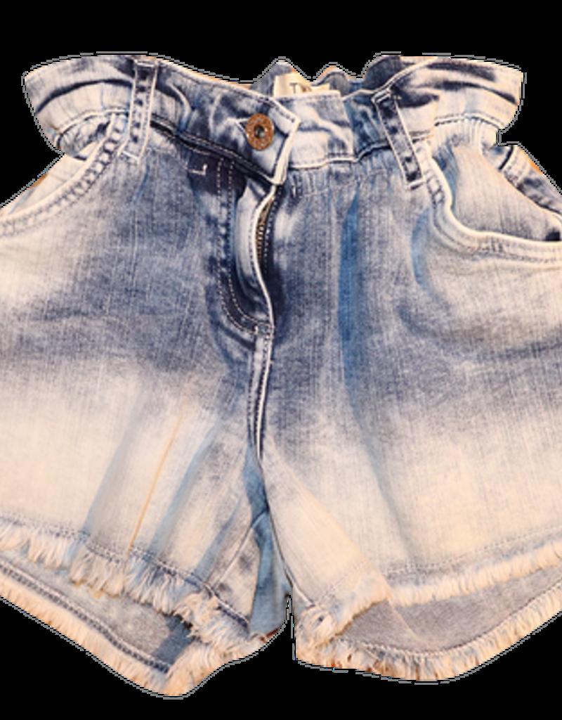 Twinset short jeans bleached