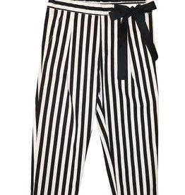 T-Love broek streep zwart wit
