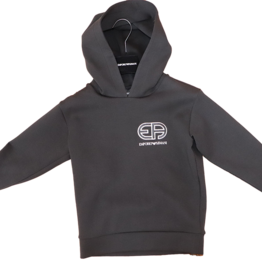 Armani sweater kap hoodie zwart