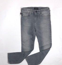 Armani broek jeans grijs zwart