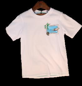 Scotch&Soda T-shirt print strand+boot