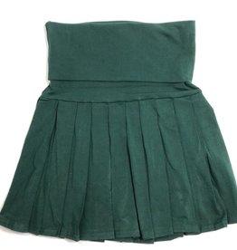 Rok groen St-Bavo schooluniform