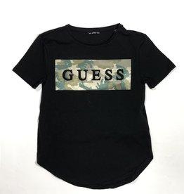 Guess zwart t-shirt km animal