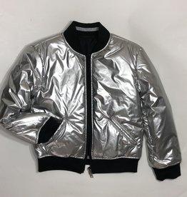 Guess jas omkeerbaar zilver