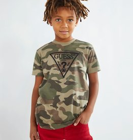 Guess T-shirt km allover camouflage