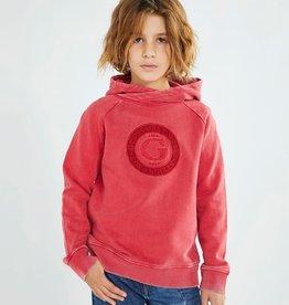 Guess sweater rood met kap