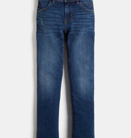 Guess blauwe jeansbroek overdyed