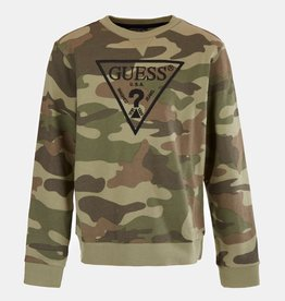 Guess swaeater allover camouflage