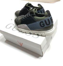 Guess sneaker schoen met camouflage print