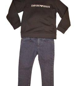 Armani jeans broek blauw